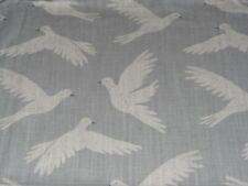 "SANDERSON ""PAPER DOVES"" 2.2 metre (220cm) birds curtain fabric MINERAL 226353"