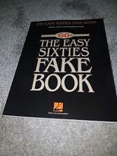 Fácil de los años sesenta falso libro Cancionero, libro, libro celebrando falso años 70 música, clave de C