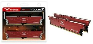 TEAM T-FORCE VULCAN Z 16GB DDR4 3200MHz INTEL XMP 2.0 Dual-Channel RAM Kit