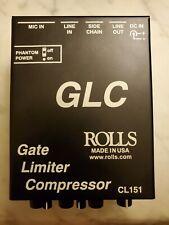Rolls Gate Limiter Compressor Cl151