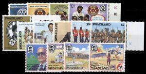 1985, Swaziland, 475-78 u.a., ** - 1751284