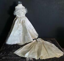 Vintage! Lot of 2 Taffeta Dresses for your 1950 Era Hard Plastic Dolls