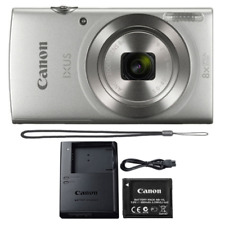 Canon ELPH 180 20MP 8x Optical Zoom Digital Camera - Silver