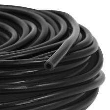 5mm ID - Silikon Unterdruck Schlauch 1m Meterware Vacuum Steuer Leitung Schwarz