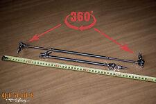 Splitter/DIFFUSORE SUPPORTO ASTE veloci staccabile in acciaio inox 26-44cm v5