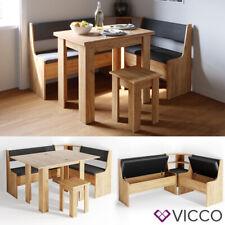VICCO Set panca ad angolo ROMAN Set sala da pranzo Set sedie Set sedie da cucina