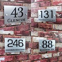 Letrero Para Número De Casa Placa de Dirección Puerta PLATO DECORATIVO