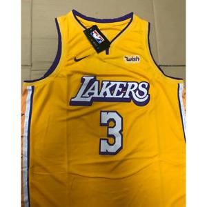 Anthony Davis #3 Los Angeles Lakers NBA Basketball Jersey Size 52