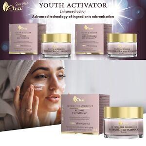 Ava Youth Activator Face Cream Retinol&Vitamin C, Marine Collagen&Hydranov™ 50ml