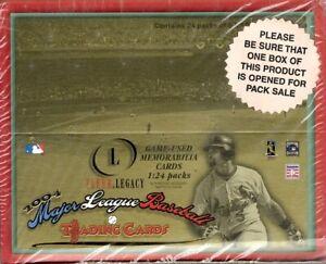 2004 Fleer Legacy Baseball box - Jeter, Pujols, Ichiro, Griffey, Arod, Maddux
