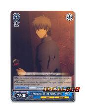 Weiss Schwarz Fate/Zero x 4 Protector of the Faith, Kirei [FZ/S17-E096 C] Englis