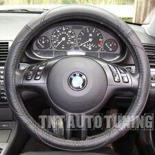 Funda de Volante en Cuero Negro BMW 1 6 X3 X5 Z3 Z4 E30 M3