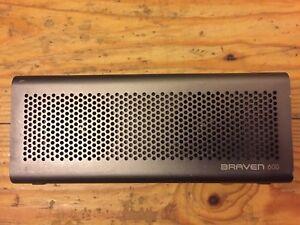Joblot 2 x Braven Portable Bluetooth Speaker ,