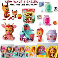 Genuine Cry Babies Magic Tears  New Pets   New Wave 3 cry babies