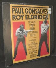Paul Gonsalves & Roy Eldridge Mexican Bandit & Pitts. Pirate Lp EX in Shrink