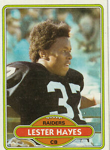 Lester Hayes - 1980 Topps - # 195 - ROOKIE - Raiders