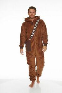 Star Wars Chewbacca One Piece Bodysuit Jumpsuit Costume (Adult)