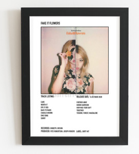 Beabadoobee Poster Fake It Flowers Album Art Polaroid Style Indie Poster  A4,A3