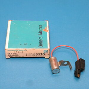 NOS GM Radio Static Suppression Capacitor 1978-1981 Buick Regal Chevrolet Truck