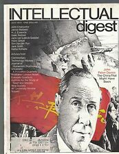 Intellectual Digest Magazine July 1972 The China That Might Have Been