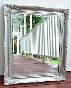 Antique Silver  Wall Mirror 73cm x 63cm