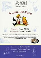 Winnie-the-Pooh - Volume 1 - read by Peter Dennis - 3 hours on  1MP3CD Audiobook