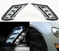 JDM Clear Front LED DRL Side Bumper Marker Lights For Scion FRS BRZ  2013-2015