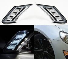 JDM Clear Front LED DRL Side Bumper Marker Lights For Scion FRS BRZ  2013-2015
