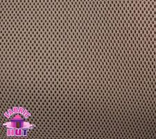 """Black 3D Spacer Air Mesh 5mm Thick Fabric 56/""""W Auto Upholstery Apparel"""