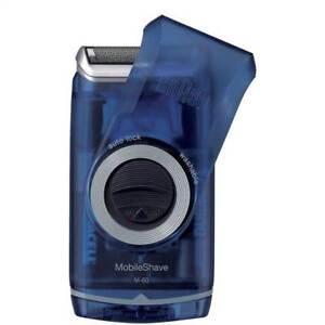 Braun Mobile M-60B Pocket Travel Washable Battery Shaver
