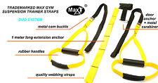 Maxgym ® Peso Corporal Suspension Trainer. Peso corporal Fitness CrossFit Entrenamiento.