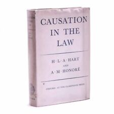 Causation In The Law, URMSON, HART, HONORÉ 1959 1st Near Fine