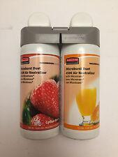Rubbermaid Commercial 3485952 Microburst Duet 2-Fragrance Aerosol Berry/Citrus