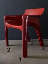 SET Piedini (4 Pezzi) sedia GAUDI di Artemide by Vico Magistretti