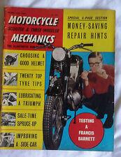 Motorcycle Mechanics MCM : February 62 : Frances Barnet :RE Constellation :James