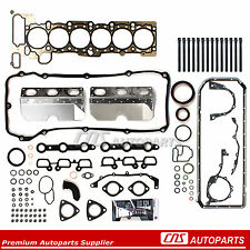 Full Gasket Set + Head Bolts 01-06 BMW 325i 530i X3 X5 Z4 2.5L 3.0L DOHC M54 M56