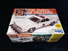 The Dukes of Hazzard Sheriff Rosco's Police Car MPC 1/25 1-0663 Complete MFD1982