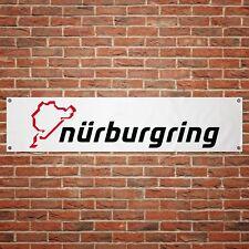 Nurburgring Banner Garage Workshop PVC Sign Trackside Car Display