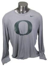 Camisetas de hombre grises Nike de poliéster
