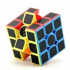 Magic Cube 3x3x3 Super Smooth Fast Speed Magic Rubiks Puzzle Rubics Rubix Toy %#