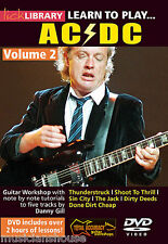 Lick Library apprendre à jouer Ac/Dc Angus Young Tutor Rock Sin City Guitare DVD 2