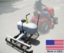 New listing Pull Behind Asphalt Sealcoating Machine - 26 Gallon - Gravity Fed - 5ft Squeegee