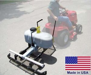 Pull Behind ASPHALT SEALCOATING Machine - 26 Gallons - Gravity Fed - Commercial
