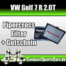 VW Golf 7/VII R 2.0 | 300PS | Pipercross Sportluftfilter/Tauschfilter