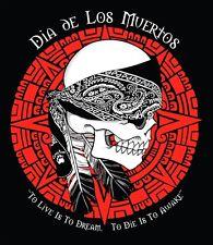"""3"""" DIA DE LOS MUERTOS, DAY OF THE DEAD Sticker. Native Zombie Gothic Death"""