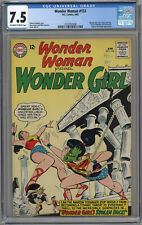 WONDER WOMAN #153 CGC 7.5 OFF-WHITE TO WHITE PAGES 1965