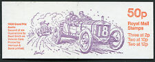 GB QEII FOLDED BOOKLET FB11a VETERAN CARS SERIES 1908 GRAND PRIX AUSTIN