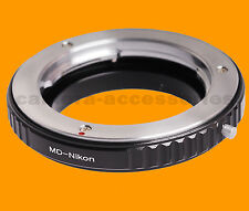 Macro Minolta MC MD SR objectif X-600 pour Nikon SLR DSLR Camera Mount Adapter Ring