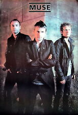 """MUSE """"BAND STANDING IN LEATHER JACKETS"""" POSTER FROM ASIA-Alt/Hard/Art Rock Music"""