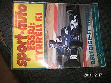 ** Sport Auto n°155 Tyrrell 007 Elf 2 Alpine A441 Fittipaldi Beltoise F1 1974